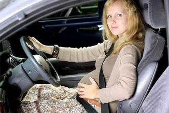 رانندگی در دوران بارداری
