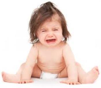 گریه کردن و خوابیدن کودکان