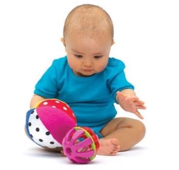 شیوههای تقویت حواس بچه ی ششماهه