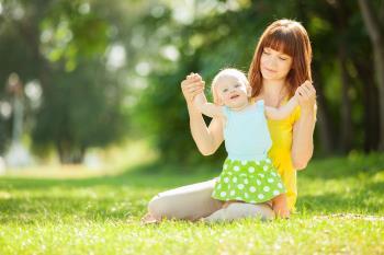 ایجاد انگیزه و تشویق نوزاد