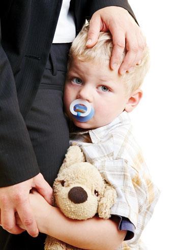 دلبستگی کودک یکساله به والدین