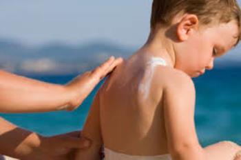 آفتاب سوختگی کودکان