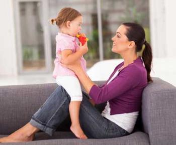 برقراری ارتباط کلامی با کودک دو ساله