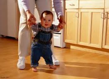 مهارت راه رفتن کودکان