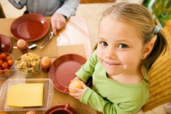 غذاخوردن کودکان چهار ساله