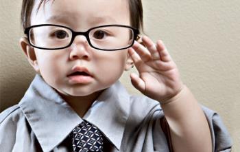 خودداری از عینک زدن در کودکان