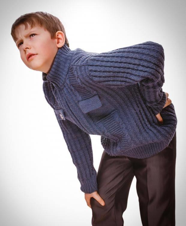 Niño con dolor Muscular Artrítico