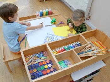 پیشنهادهایی برای سازماندهی کاردستی های کودکان