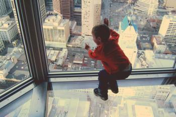ترس از ارتفاع در کودکان