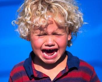 گریه و زاری کودکان