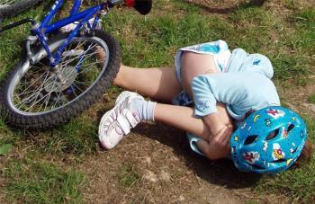 آسیب های ناشی از دوچرخه سواری کودکان
