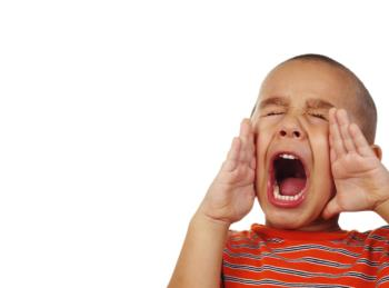 داد زدن در کودکان