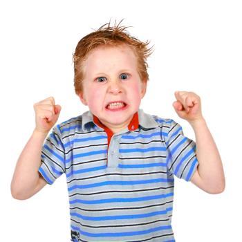 عصبانی شدن کودکان
