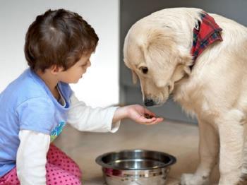 مسئولیت نگهداری از حیوانات خانگی در کودکان