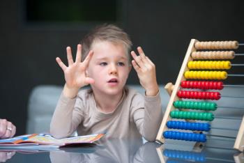 زمان یادگیری حروف الفبا و اعداد در کودکان