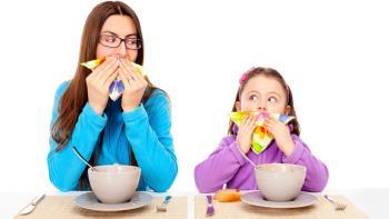 آموختن رفتار و کار خوب به کودک