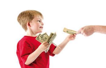 پول توجیبی برای کودکان