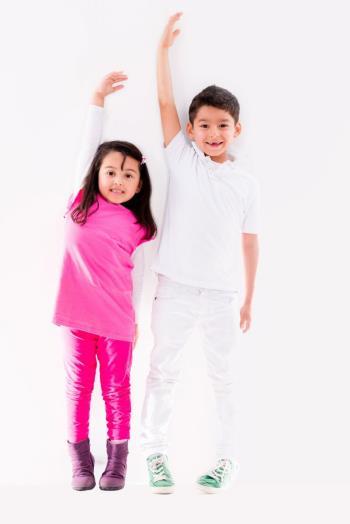 شکل ظاهری و اعضای بدن کودکان