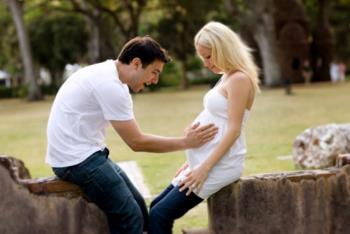پدری کردن نسبت به کودک قبل از تولد