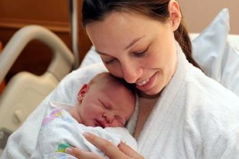 بهبود مادر بعد از زایمان دوم