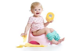 ده فرمان آموزش توالت رفتن کودک ( کنترل دفع )
