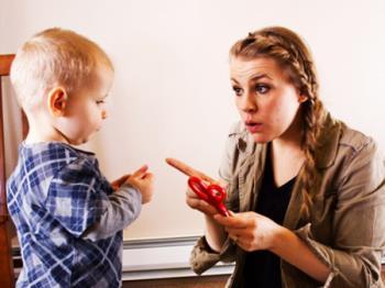 خشم والدین در مقابل رفتار کودک