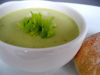 طرز تهیه سوپ کرفس