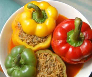طرز تهیه دلمه سبزیجات فصل